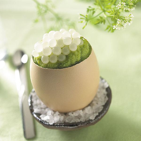 Français : caviar d'escargot DE JAEGER oeuf d'escargot Author: de jaeger Caviar d'escargot Wikipedia